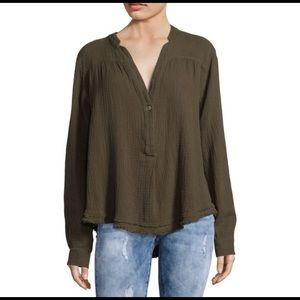 Free People Changing Horizons V Neck Top